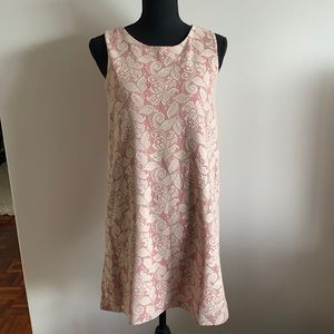 H & M Pink Lace Dress Knee length Small
